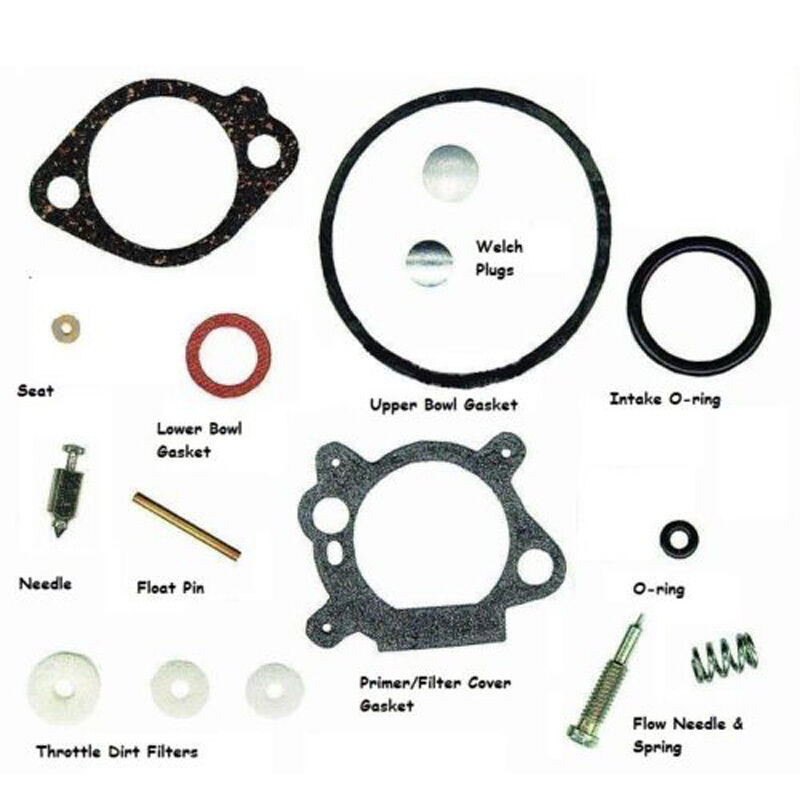 Replace Carb Parts For Briggs & Stratton 492495 493762