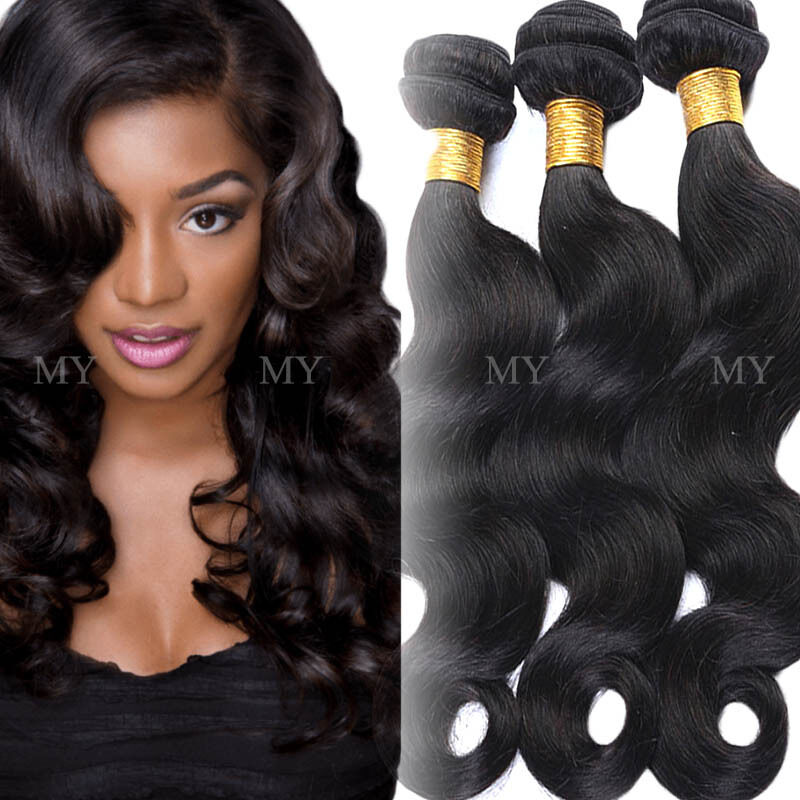 300g Soft 3 Bundles Unprocessed 7A Virgin Human Hair