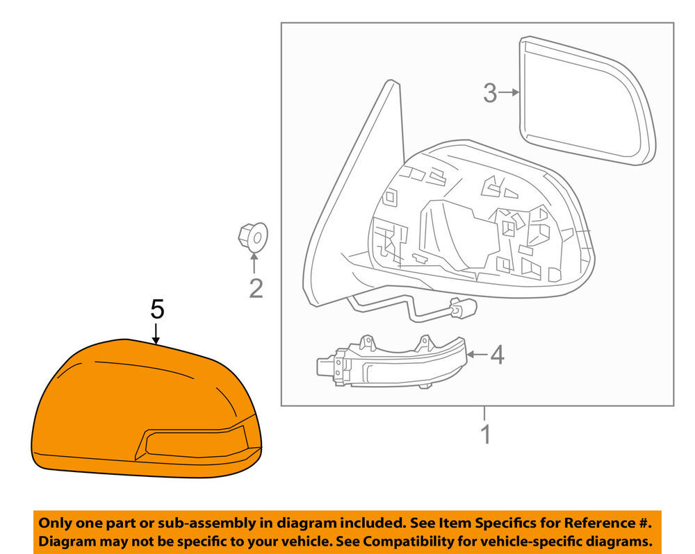 medium resolution of toyota oem tacoma door side rear view mirror cover cap trim left toyota 3 4 v6 supercharger side view toyota 3 4 v6 engine diagrams electrical