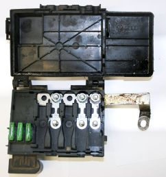 details about vw golf mk4 fuse box on top of battery 3 wire type 1j0 937 549 c [ 1000 x 914 Pixel ]