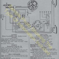 1924 Ford Model T Wiring Diagram For Motorcycle Turn Signals 1921-1924 Car Electric System Specs 591 | Ebay
