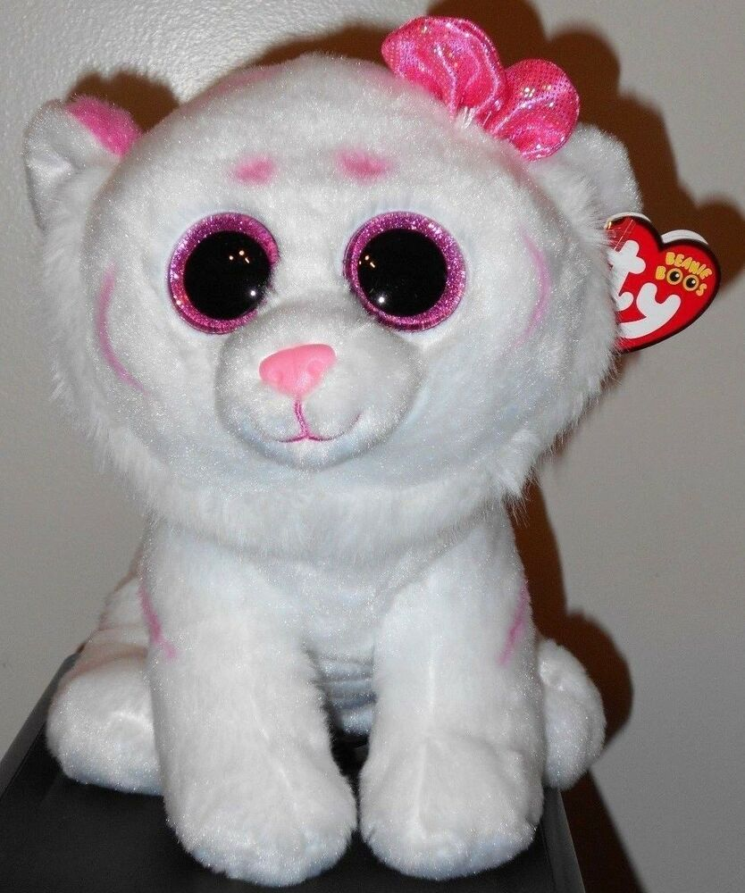 Ty Beanie Boos Buddy PURRCILLA The 9 Medium Valentines