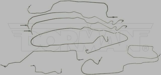 04-07 SILVERADO HD 2500 STAINLESS BRAKE LINE KIT CREW CAB