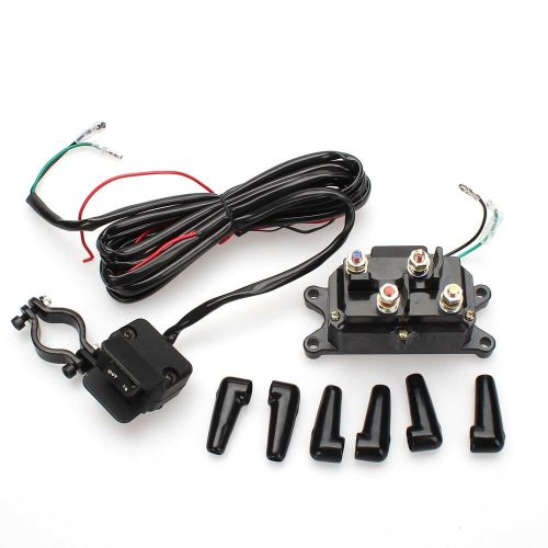 small resolution of details about atv 12v 250a starter solenoid relay contactor winch rocker thumb switch kit