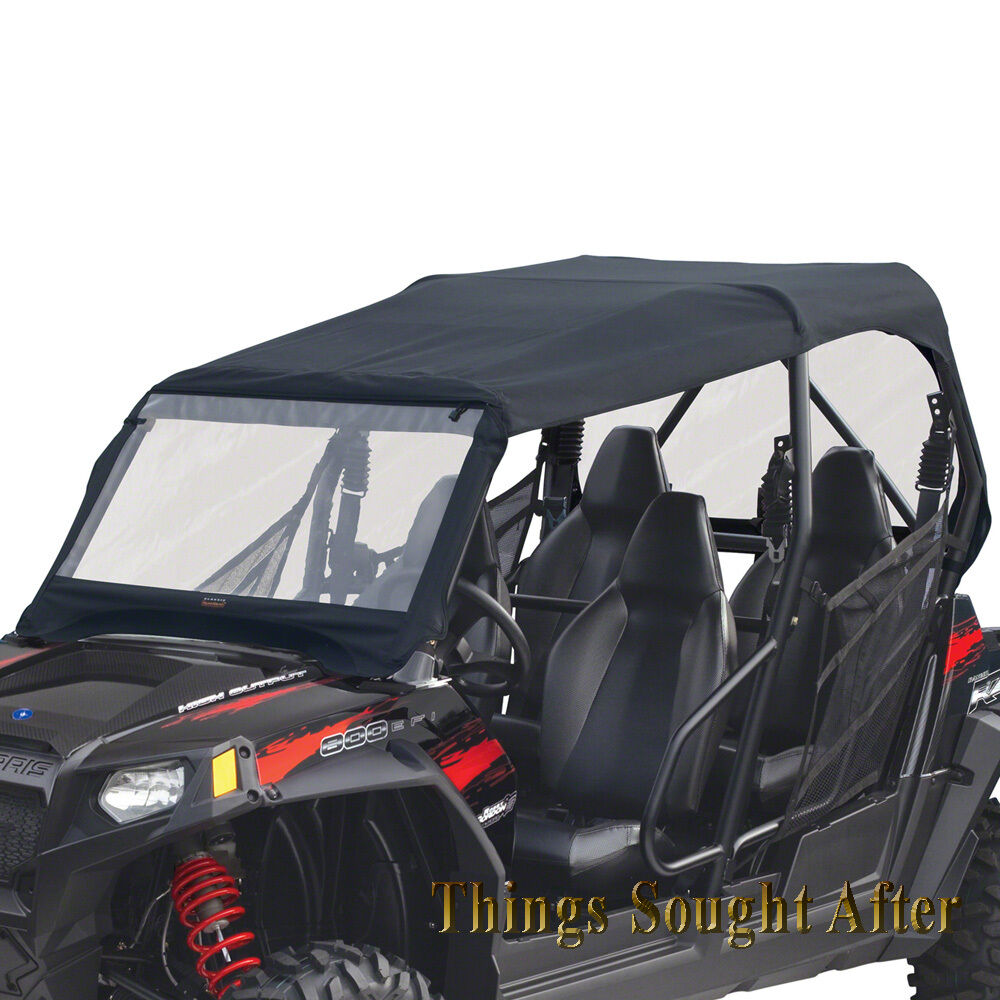 hight resolution of details about canvas cab enclosure for 2011 polaris rzr 4 800 900 le xp eps rzr4 razor roof