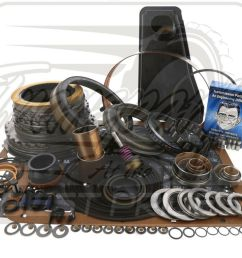 details about ford e4od 4r100 transmission deluxe overhaul rebuild kit 4 97 00 level 2 4wd [ 1000 x 790 Pixel ]