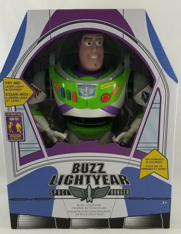 Disney Store Toy Story Buzz Lightyear Interactive Talking Action Figure 12