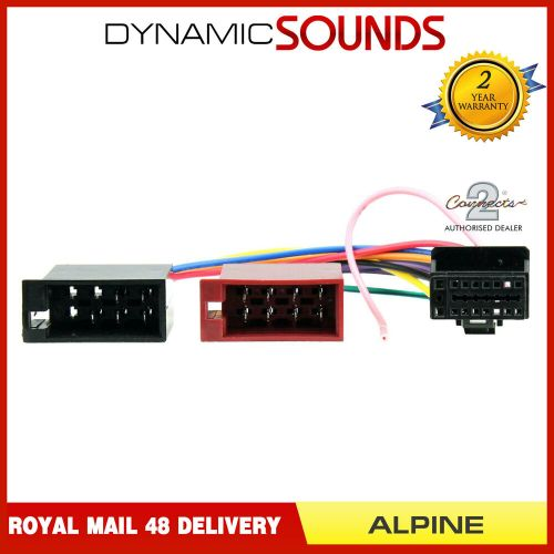 small resolution of details about ct21al01 16 pin to iso lead headunit radio wiring harness car stereo for alpine