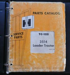 details about 1968 69 farmall international harvester 3514 loader tractor parts catalog manual [ 902 x 1000 Pixel ]