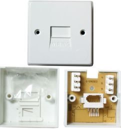 details about bt telephone master socket idc terminals surface wall outlet face plate 1 1a [ 1000 x 1000 Pixel ]