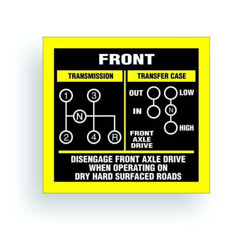 small resolution of details about transmission shift pattern decal twin stick cj5 cj7 jeep t18 reverse down ar038