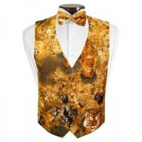 Lions, Tigers, and Zebras Tuxedo Vest and Bowtie | eBay