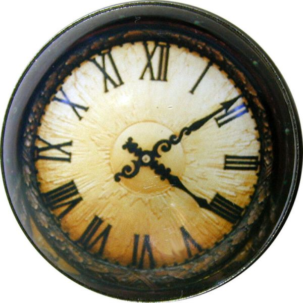 Clock Face Steampunk Border