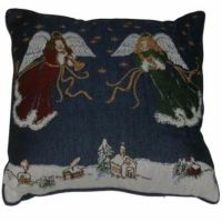 Soft Impressions Tapestry Angel Throw Pillow Angels On ...