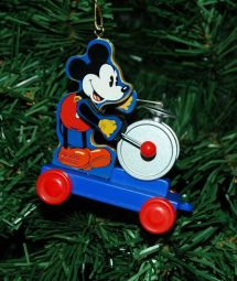 Mickey Mouse Drummer Disney Christmas Ornament