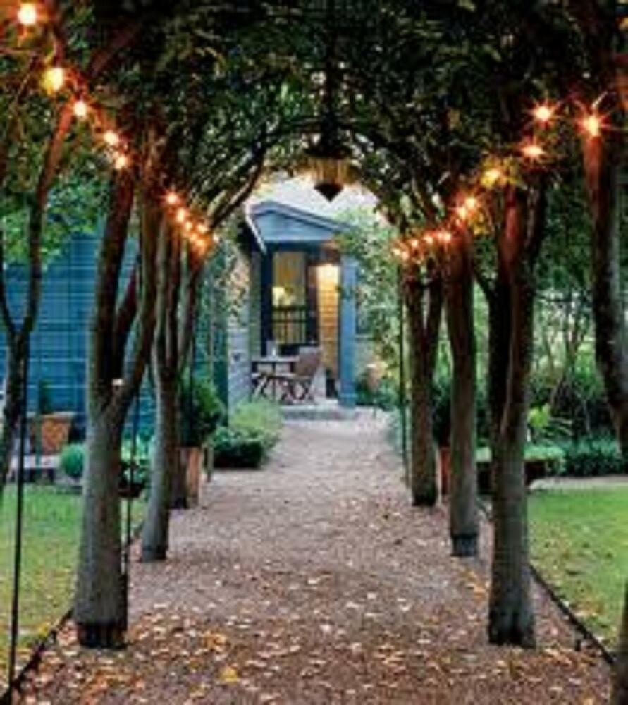 IVORY WHITE solar powered 100 LED outdoor garden String party FAIRY lights lamp  eBay