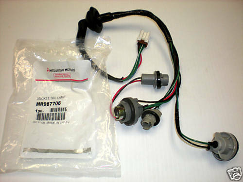 1999 ford explorer wiring diagram franklin electric submersible motor control tail light socket harness galant 2004 - 2007 genuine mitsubishi part ! | ebay