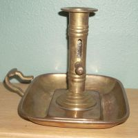 Antique / Vintage Brass Candle Holder | eBay
