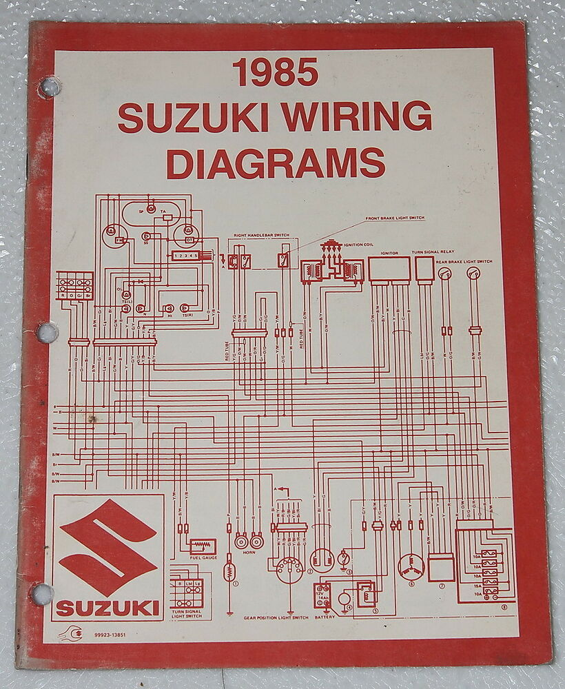 hight resolution of suzuki gs300 wiring diagram wiring library 1985 suzuki motorcycle and atv electrical wiring diagrams manual 85