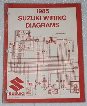 1985 SUZUKI Motorcycle and ATV Electrical Wiring Diagrams
