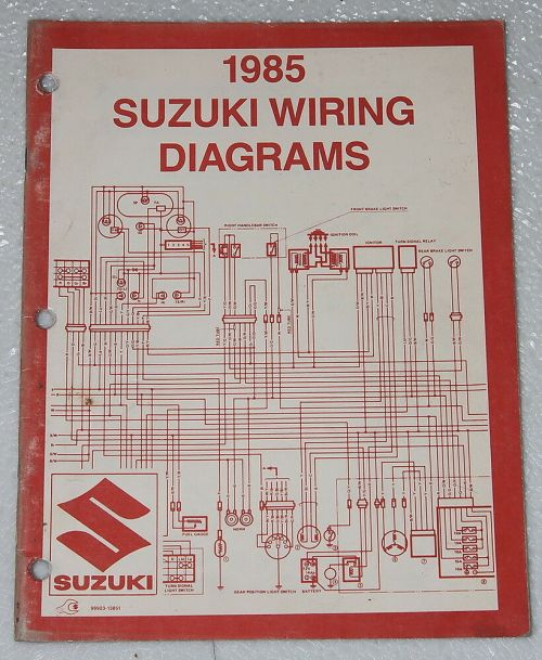 small resolution of suzuki gs300 wiring diagram wiring library 1985 suzuki motorcycle and atv electrical wiring diagrams manual 85