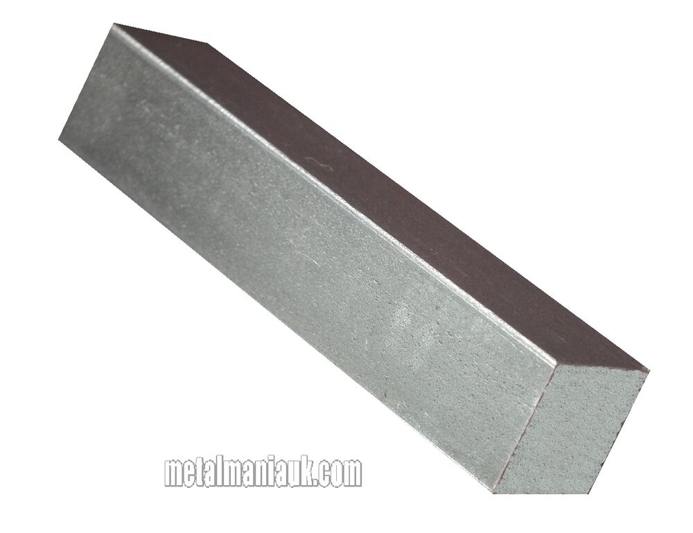 "Mild Steel Bright Square 3/4"" X 3/4"" X 250mm Long"