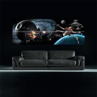 STAR WARS EMPIRE AT WAR 2.5 METRE WIDE Vector Giant Wall ...