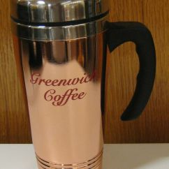 Kitchen Containers Kraftmaid Handsome 16oz Stainless Steel Greenwich Coffee Travel Mug ...