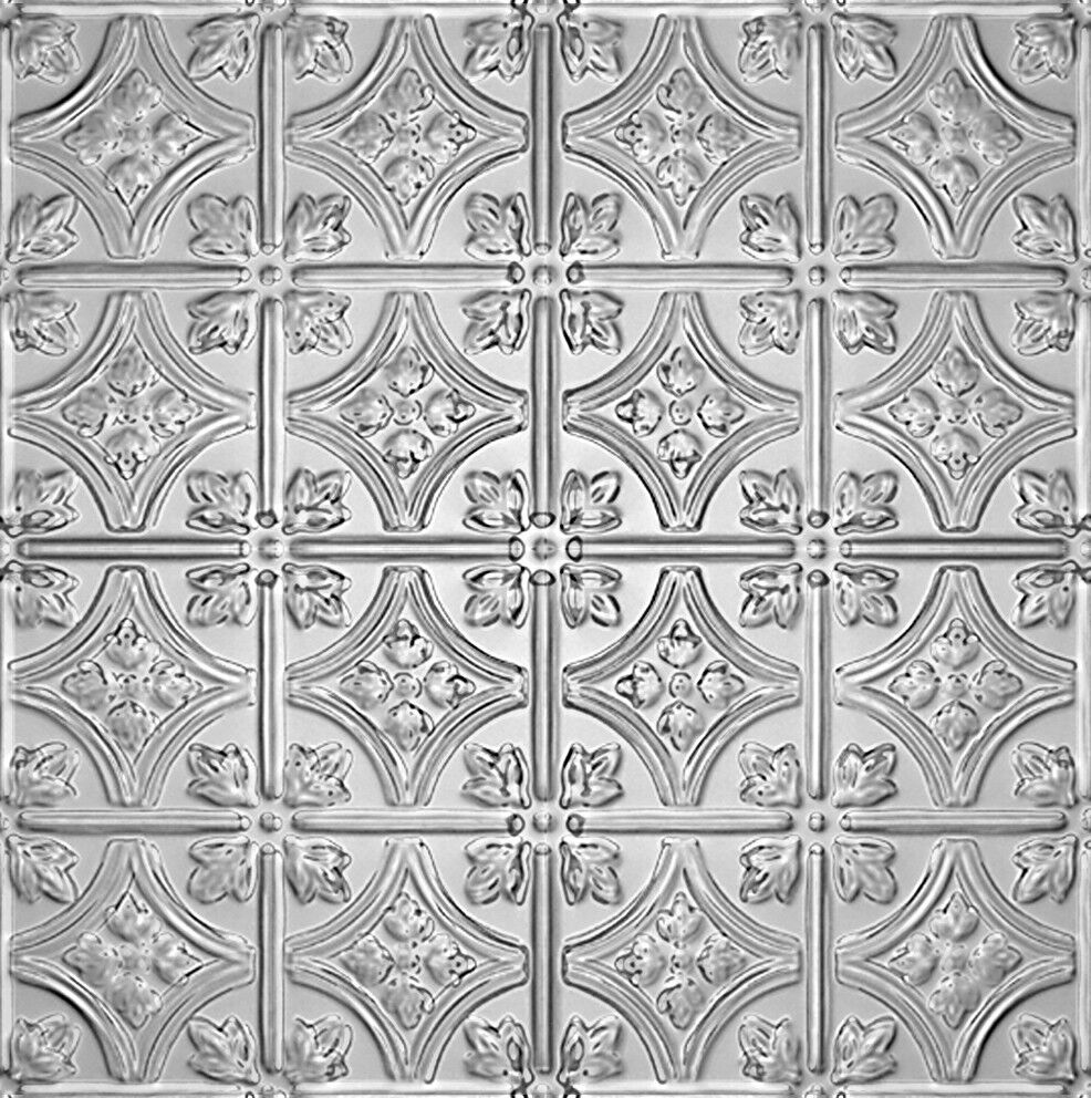 Tin Ceiling Tile Pattern 0604Multiple Colors Available  eBay