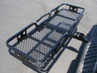 Folding Cargo Carrier Luggage Basket 2'' Receiver Hitch ...