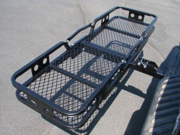 Folding Cargo Carrier Luggage Basket 23939 Receiver Hitch