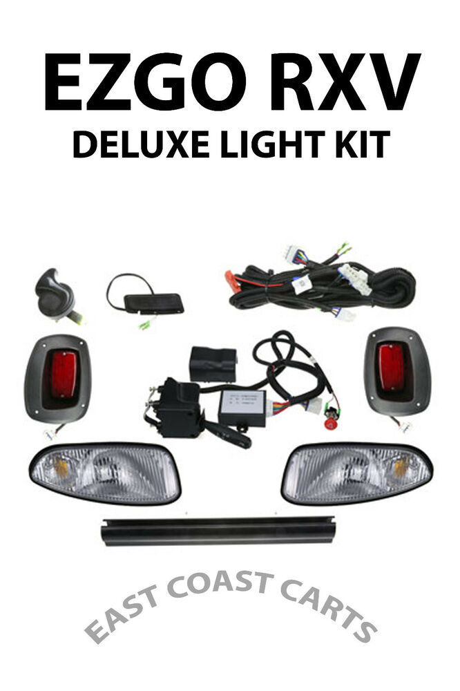 EZGO RXV GOLF CART DELUXE STREET LEGAL HEAD & TAIL LIGHT