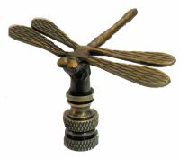 Brass Lamps Vintage. Lamp Parts: ANTIQUE BRASS DRAGONFLY ...