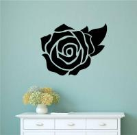 Rose Flower Vinyl Decal Wall Stickers Bedroom Kitchen ...