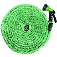 75 FT Expanding Hose Green Flexible Expandable Garden