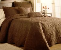 Twin - Victoria Classics - Genevieve Brown Quilted PILLOW ...