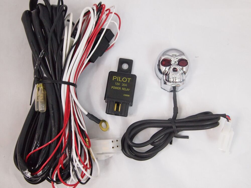 Universal Fog Lamp Wiring Harness With Relay And Switch Buy Fog Lamp
