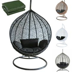 Rope Chair Swing Etsy Dining Room Covers Rattan Outdoor Garden Patio Hanging Wicker Weave Hammock Pod | Ebay