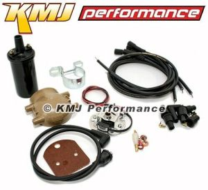 Pertronix IgnitorCoilWiresIgnition Ford 2N 8N 9N Front