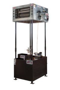 Waste oil Heater/Furnace Lanair MX150 with tank and ...