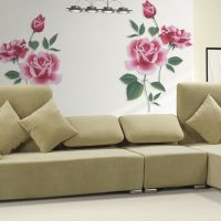 Rose Flower Removable Wall Vinyl Decal Art Home Decor Wall ...