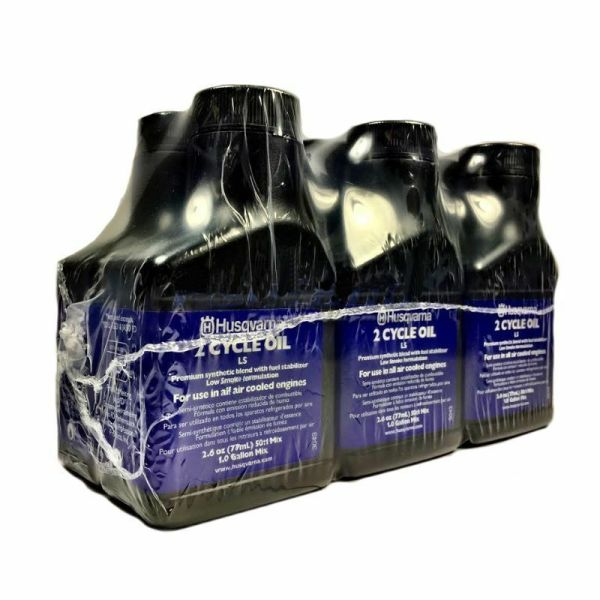 Husqvarna Smoke 2-cycle Oil 2.6 Oz 6 Pack 50 1 Gallon