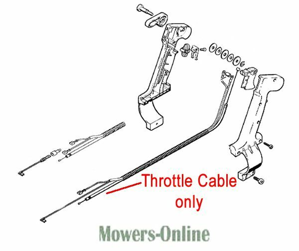Stihl Throttle Cable Backpack Blower 4203 180 1111 BR320