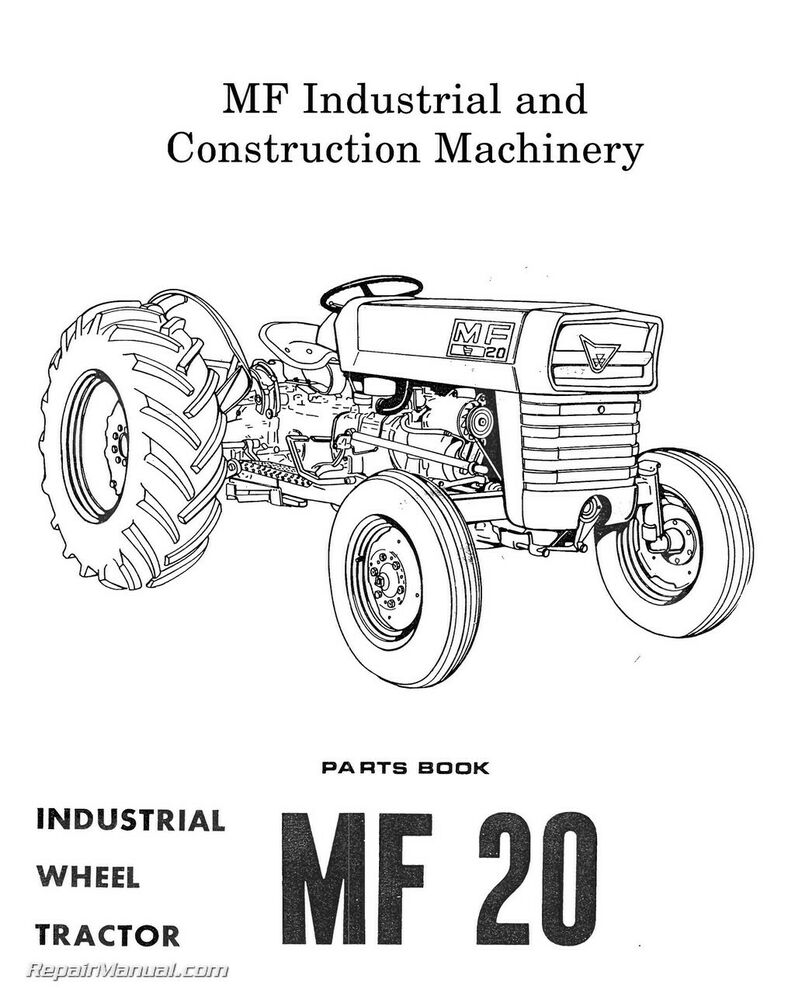 Massey-Ferguson Model MF20 MF25 MF30 Industrial Wheel