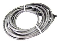 "3' piece Black Hose 1/4"" ID alcohol proof line motorcycle ..."