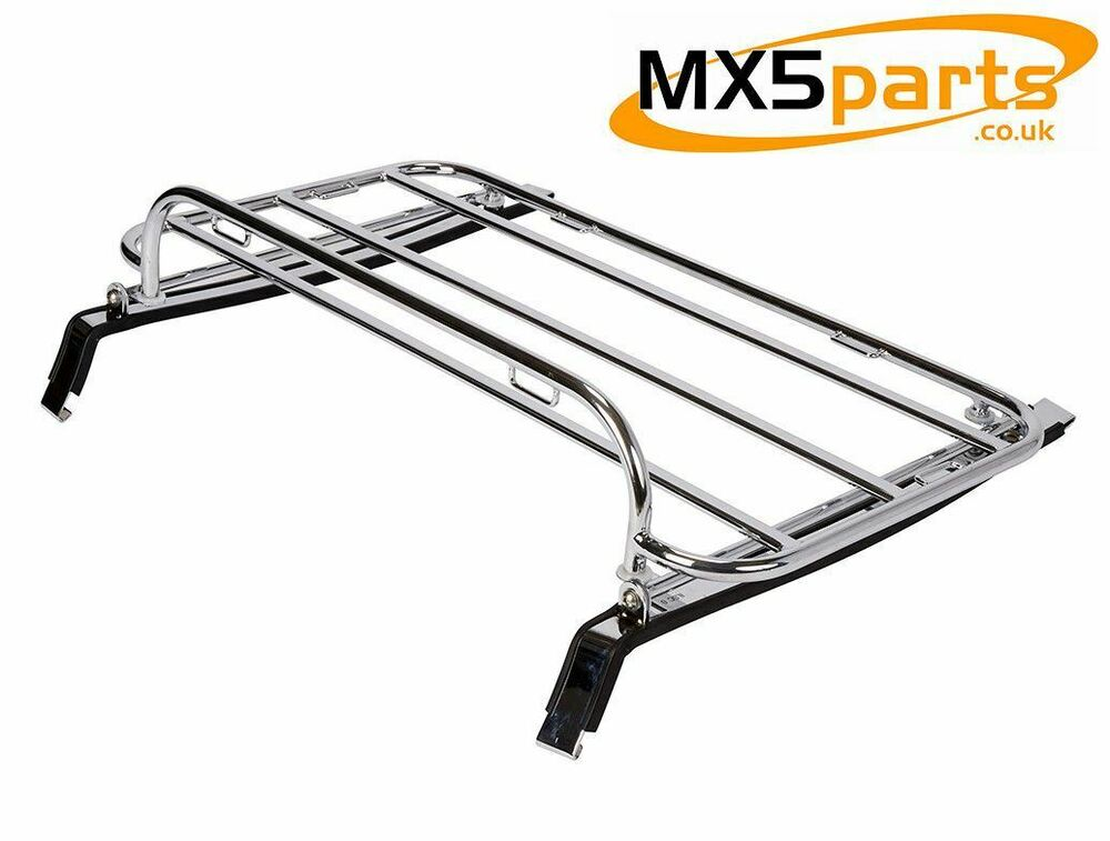 Chromed Stainless Steel Boot Luggage Rack MX5 Eunos Miata