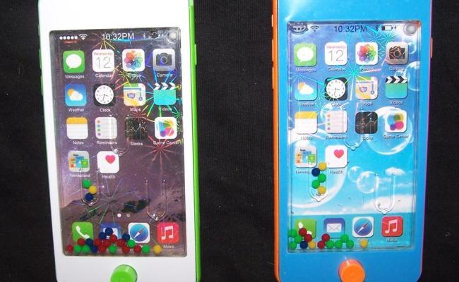 2 Iphone Cell Phone Toy Water Pinball Game Novelty Play