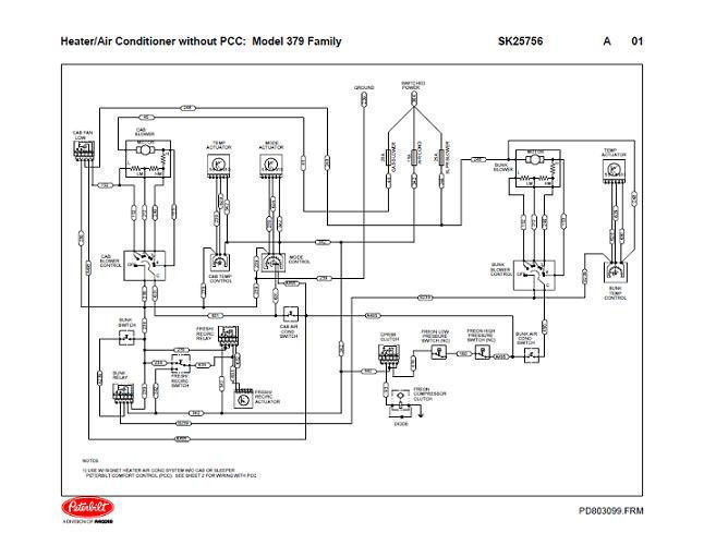 1993 jeep grand cherokee laredo wiring diagram plant cell black and white peterbilt 379 family hvac diagrams (with & without pcc) 04/2004 down | ebay