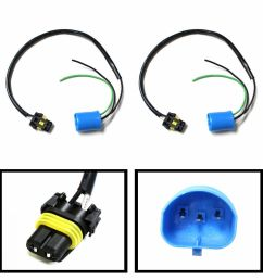 details about 9006 to 9007 conversion wires adapters for headlight retrofit or hid kit install [ 1000 x 1000 Pixel ]