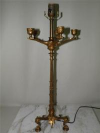 Antique Napoleonic French Empire Figural Bronze Candelabra ...